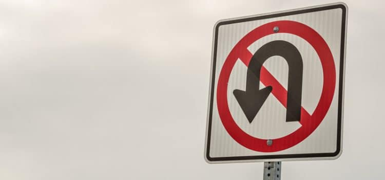 3-Point Turns are U-Turns, Says Police and Courts
