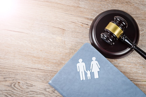 Child and spousal support obligations take effect either pursuant to a court order or a separation agreement.