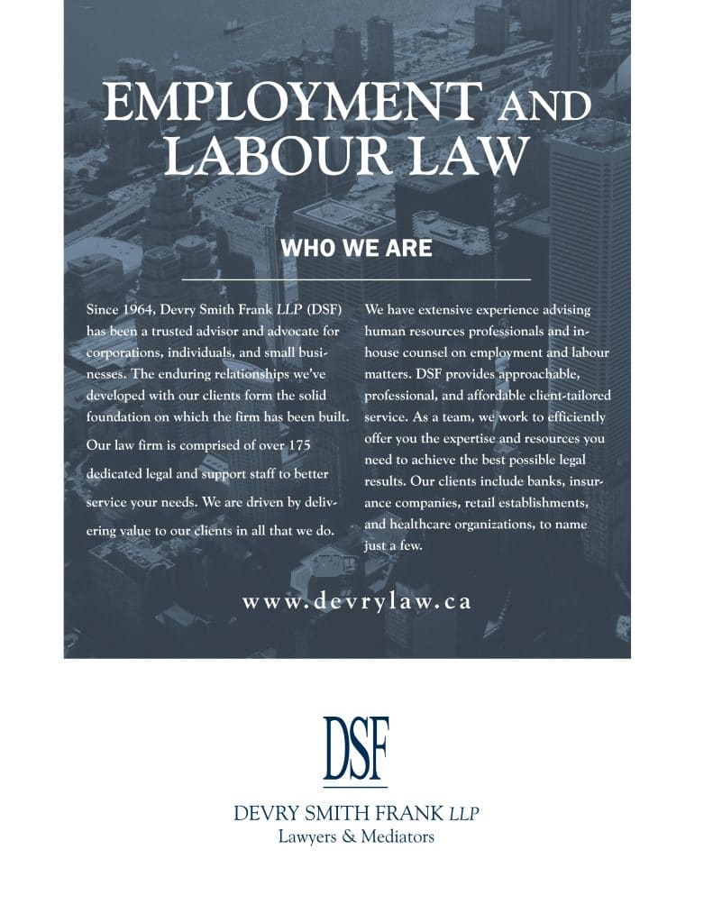 Employment And Labour Law